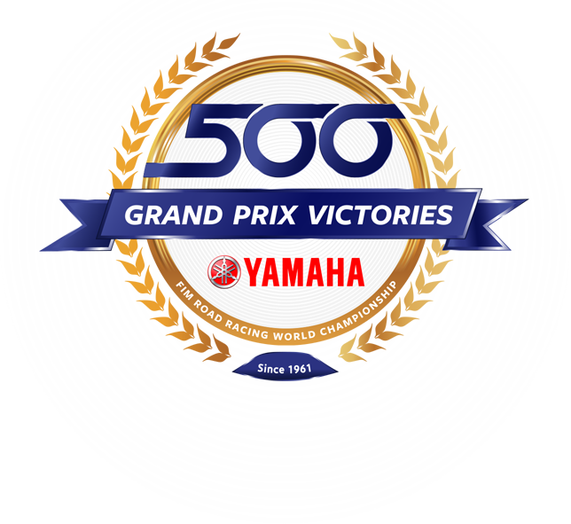 500 Yamaha GP victories since 1961