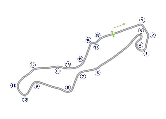 Grand Prix of The Netherlands - Track map