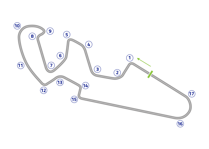 Grand Prix of Aragón - Track map