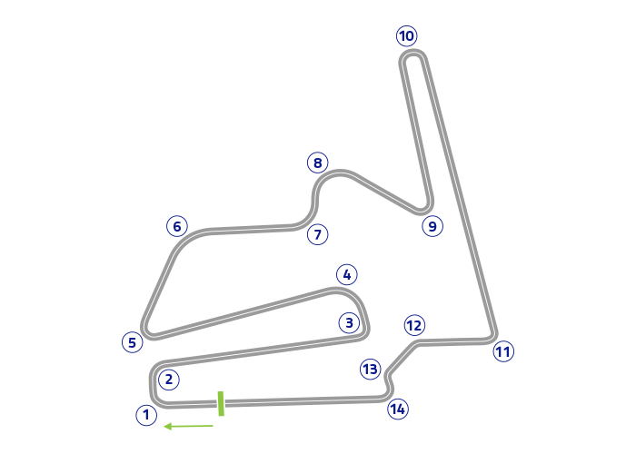 Grand Prix of Japan - Track map