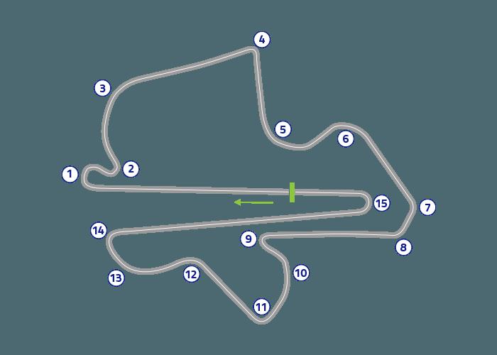Grand Prix of Malaysia - Track map